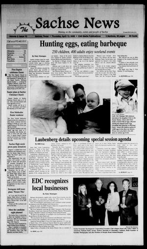 Primary view of object titled 'The Sachse News (Sachse, Tex.), Vol. 2, No. 11, Ed. 1 Thursday, April 13, 2006'.