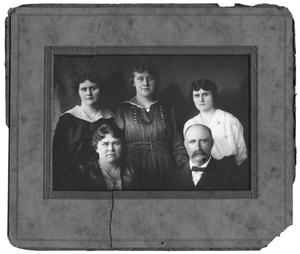 Primary view of object titled 'Portrait of the Tolbert family'.