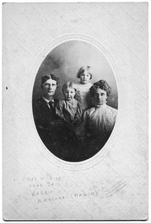 Primary view of object titled 'Portrait of Charles Henry Vise and his family'.