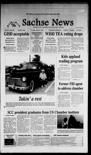 Primary view of object titled 'The Sachse News (Sachse, Tex.), Vol. 3, No. 28, Ed. 1 Thursday, August 9, 2007'.