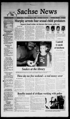 Primary view of object titled 'The Sachse News (Sachse, Tex.), Vol. 2, No. 27, Ed. 1 Thursday, August 3, 2006'.