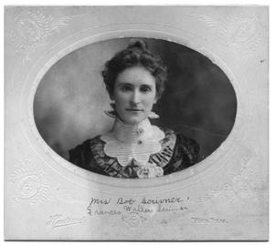 Primary view of object titled 'Portrait of Frances Rosewarne Walker Scrivner'.