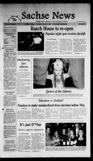 Primary view of object titled 'The Sachse News (Sachse, Tex.), Vol. 2, No. 6, Ed. 1 Thursday, March 9, 2006'.