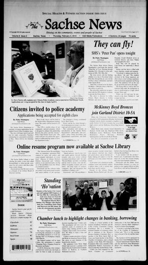Primary view of object titled 'The Sachse News (Sachse, Tex.), Vol. 6, No. 2, Ed. 1 Thursday, February 4, 2010'.
