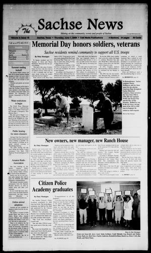 Primary view of object titled 'The Sachse News (Sachse, Tex.), Vol. 2, No. 18, Ed. 1 Thursday, June 1, 2006'.