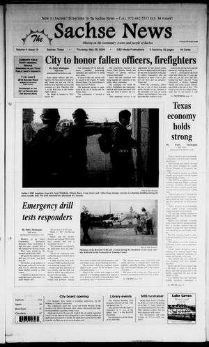 Primary view of object titled 'The Sachse News (Sachse, Tex.), Vol. 4, No. 18, Ed. 1 Thursday, May 29, 2008'.
