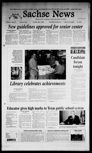 Primary view of object titled 'The Sachse News (Sachse, Tex.), Vol. 4, No. 14, Ed. 1 Thursday, May 1, 2008'.