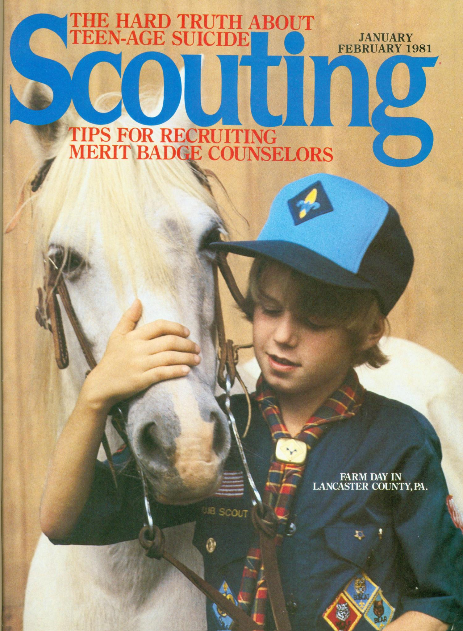 Scouting, Volume 69, Number 1, January-February 1981                                                                                                      Front Cover