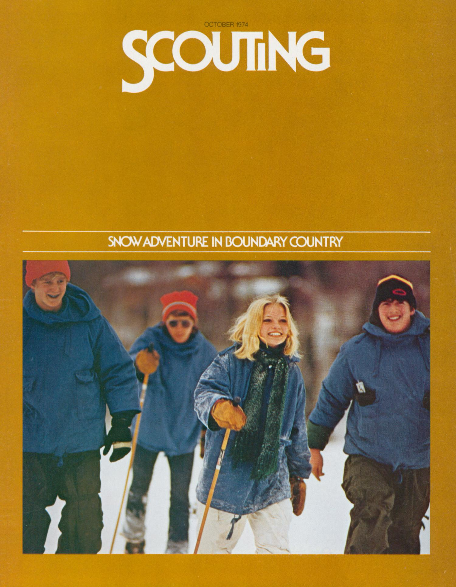 Scouting, Volume 62, Number 7, October 1974                                                                                                      Front Cover