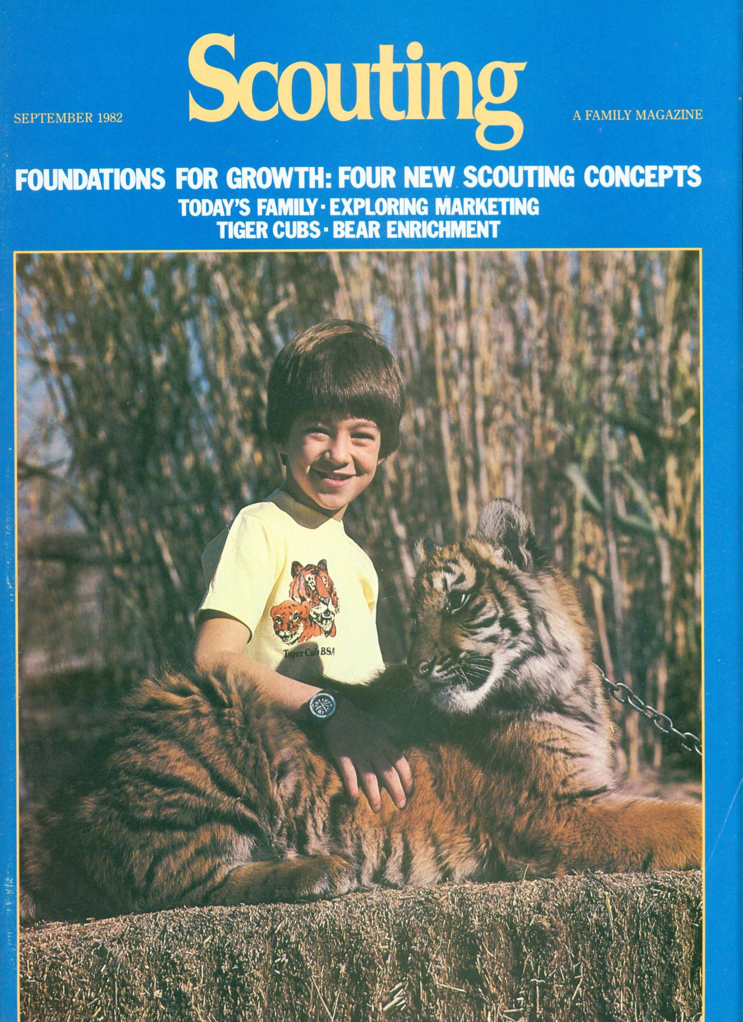 Scouting, Volume 70, Number 4, September 1982                                                                                                      Front Cover