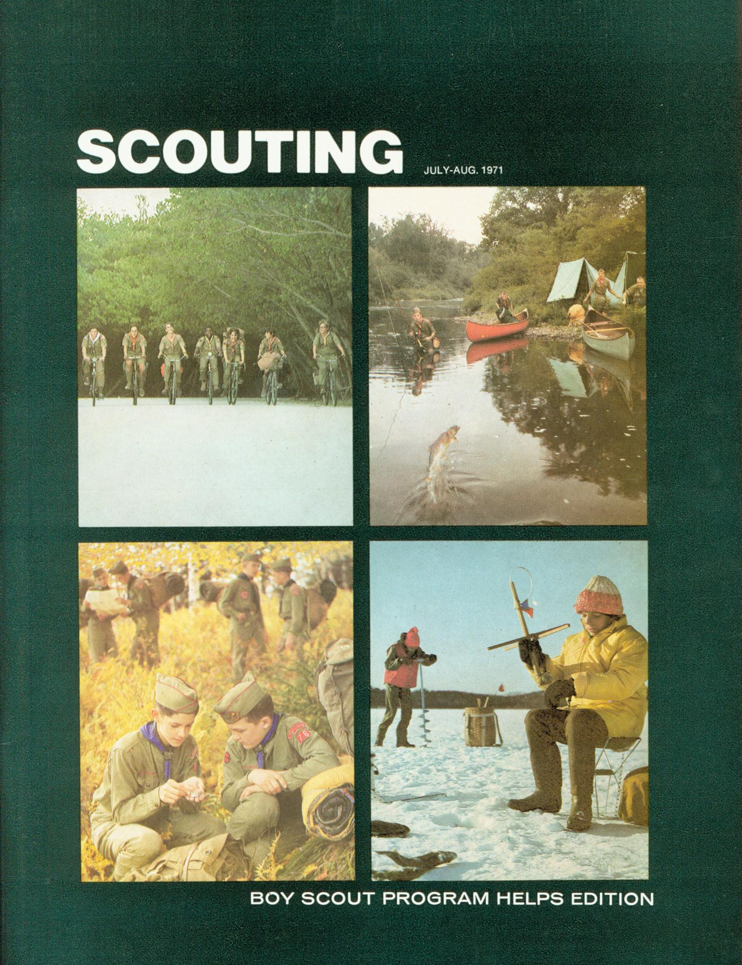 Scouting, Volume 59, Number 4, July-August 1971                                                                                                      Front Cover
