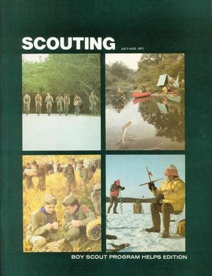 Primary view of object titled 'Scouting, Volume 59, Number 4, July-August 1971'.