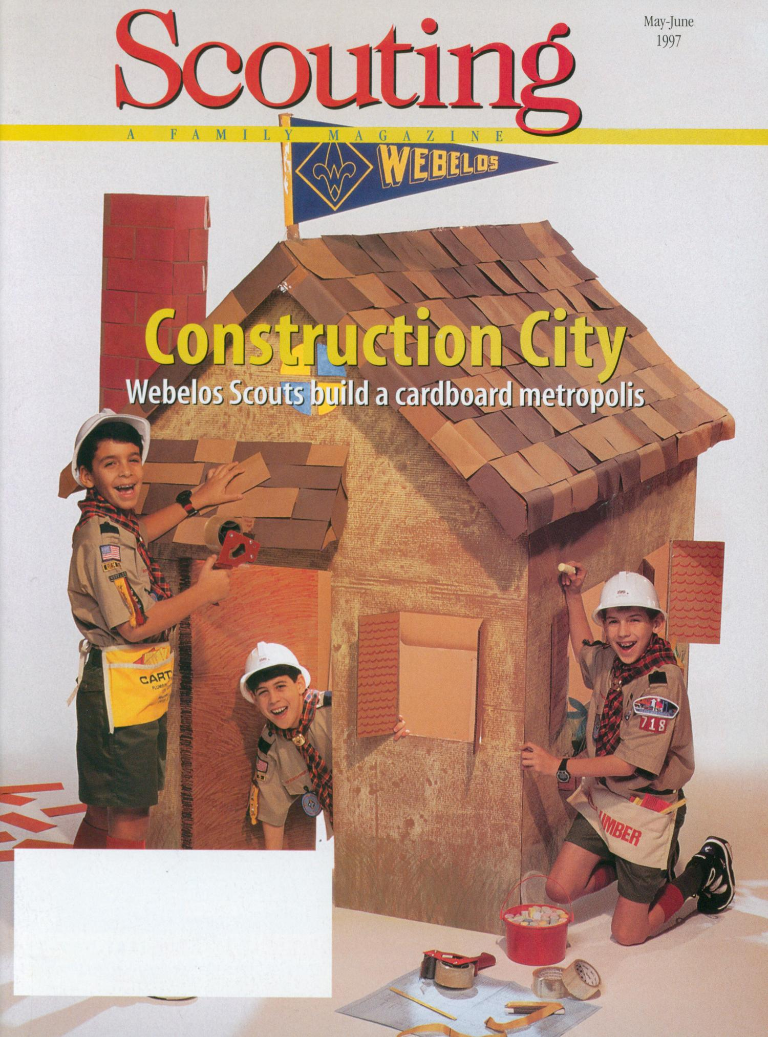 Scouting, Volume 85, Number 3, May-June 1997                                                                                                      Front Cover