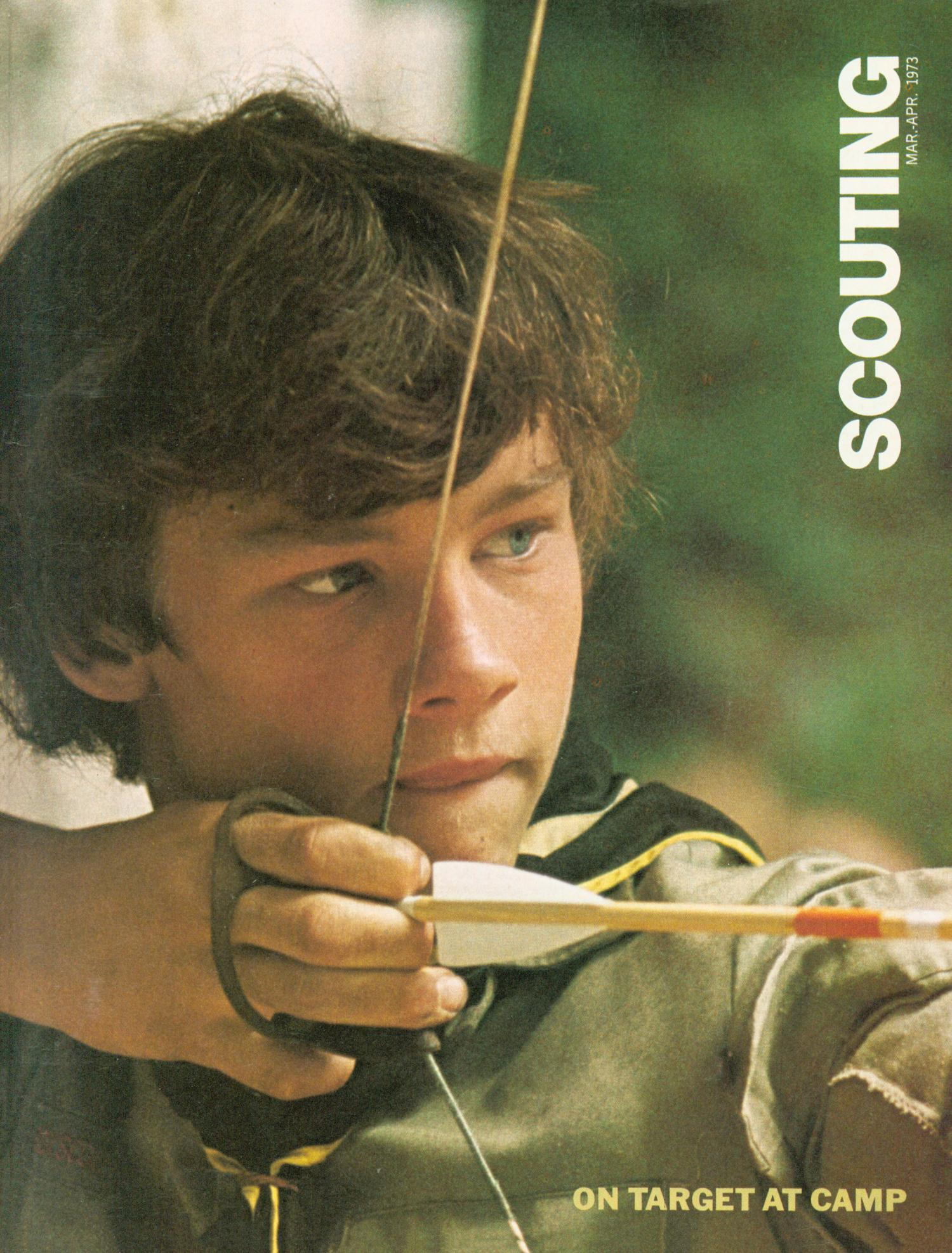 Scouting, Volume 61, Number 3, March-April 1973                                                                                                      Front Cover