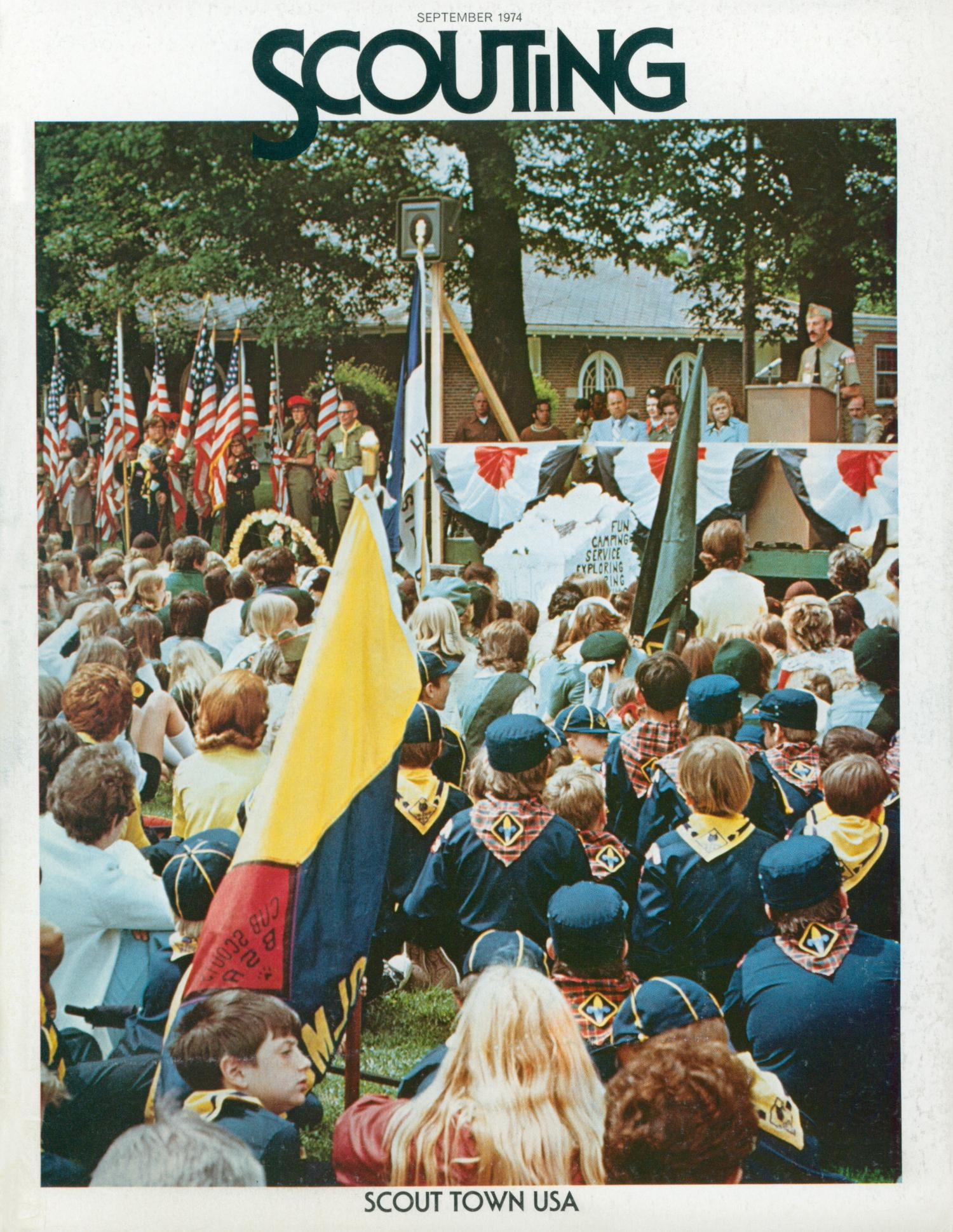 Scouting, Volume 62, Number 6, September 1974                                                                                                      Front Cover