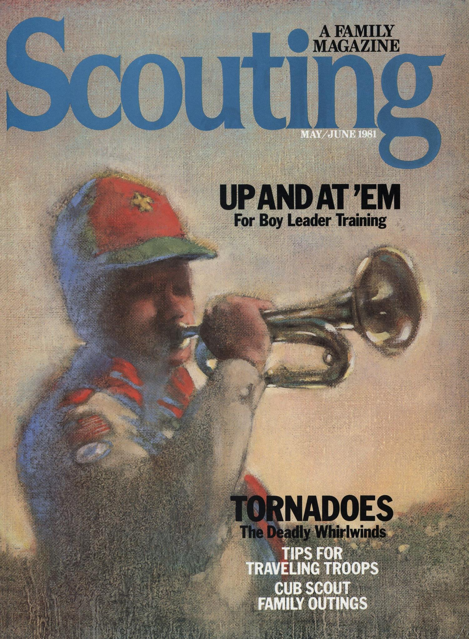Scouting, Volume 69, Number 3, May-June 1981                                                                                                      Front Cover
