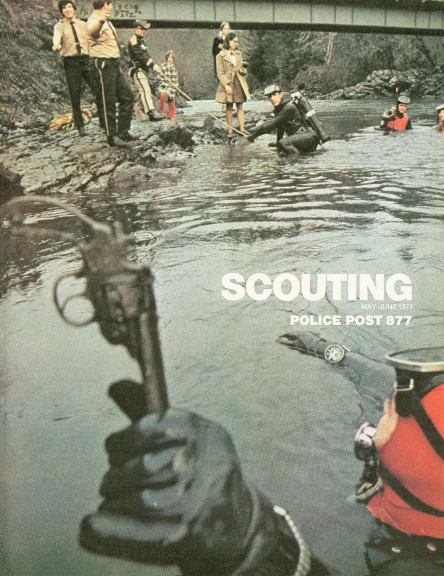 Scouting, Volume 59, Number 3, May-June 1971                                                                                                      Front Cover