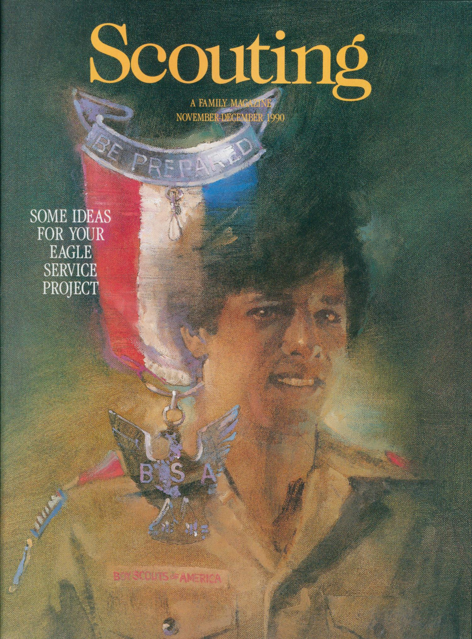 Scouting, Volume 78, Number 6, November-December 1990                                                                                                      Front Cover