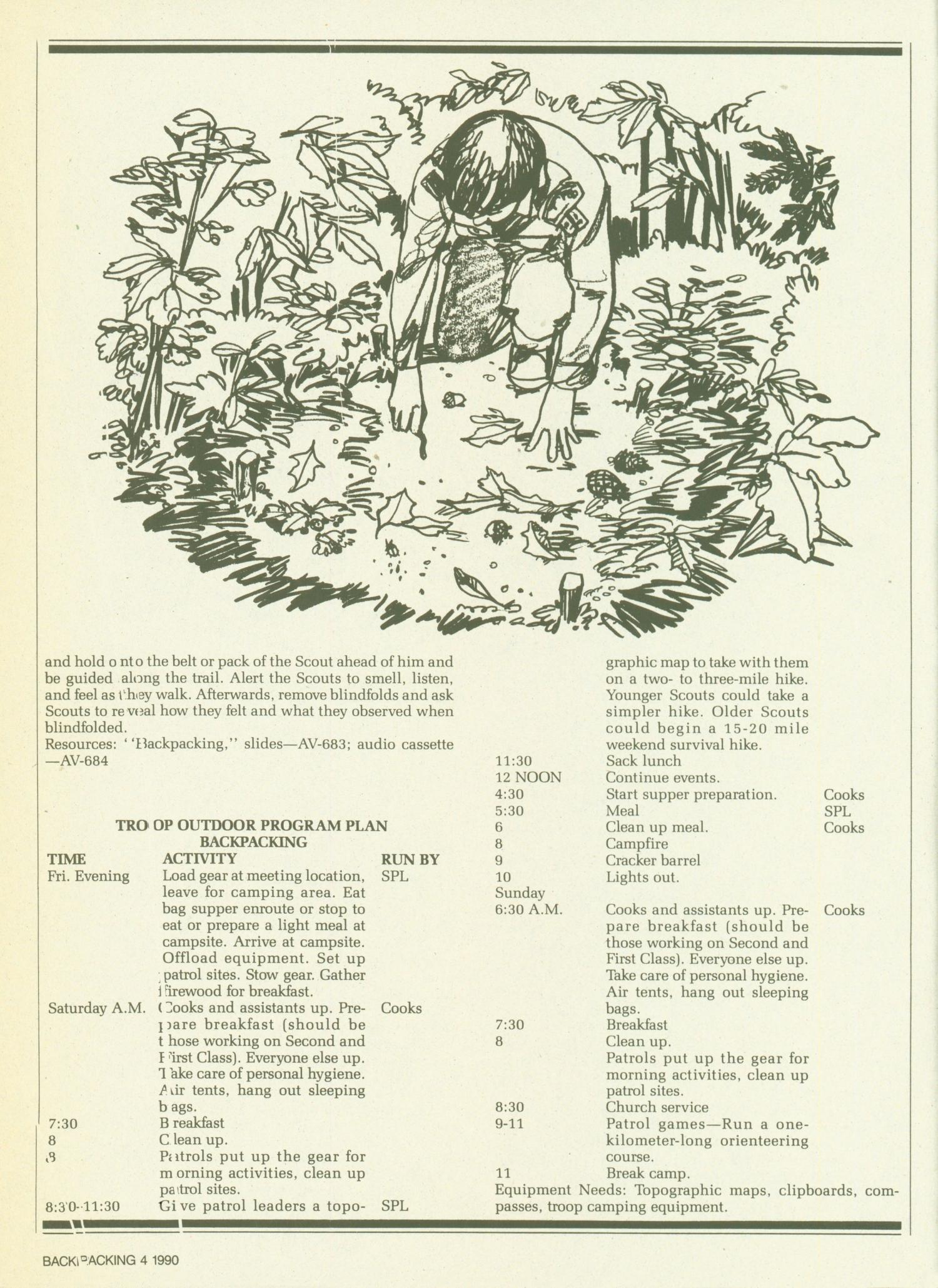 Scouting, Volume 78, Number 3, March-April 1990                                                                                                      4