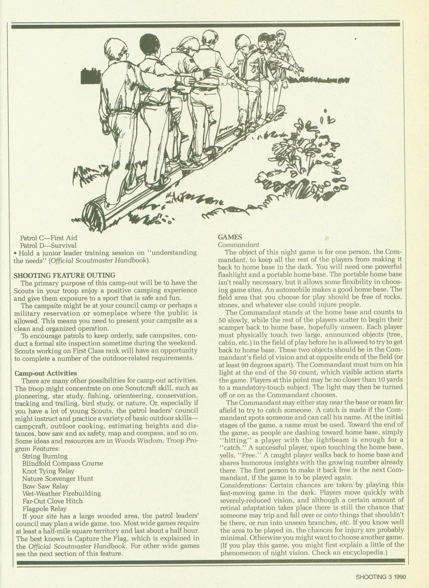 Scouting, Volume 78, Number 3, March-April 1990                                                                                                      3