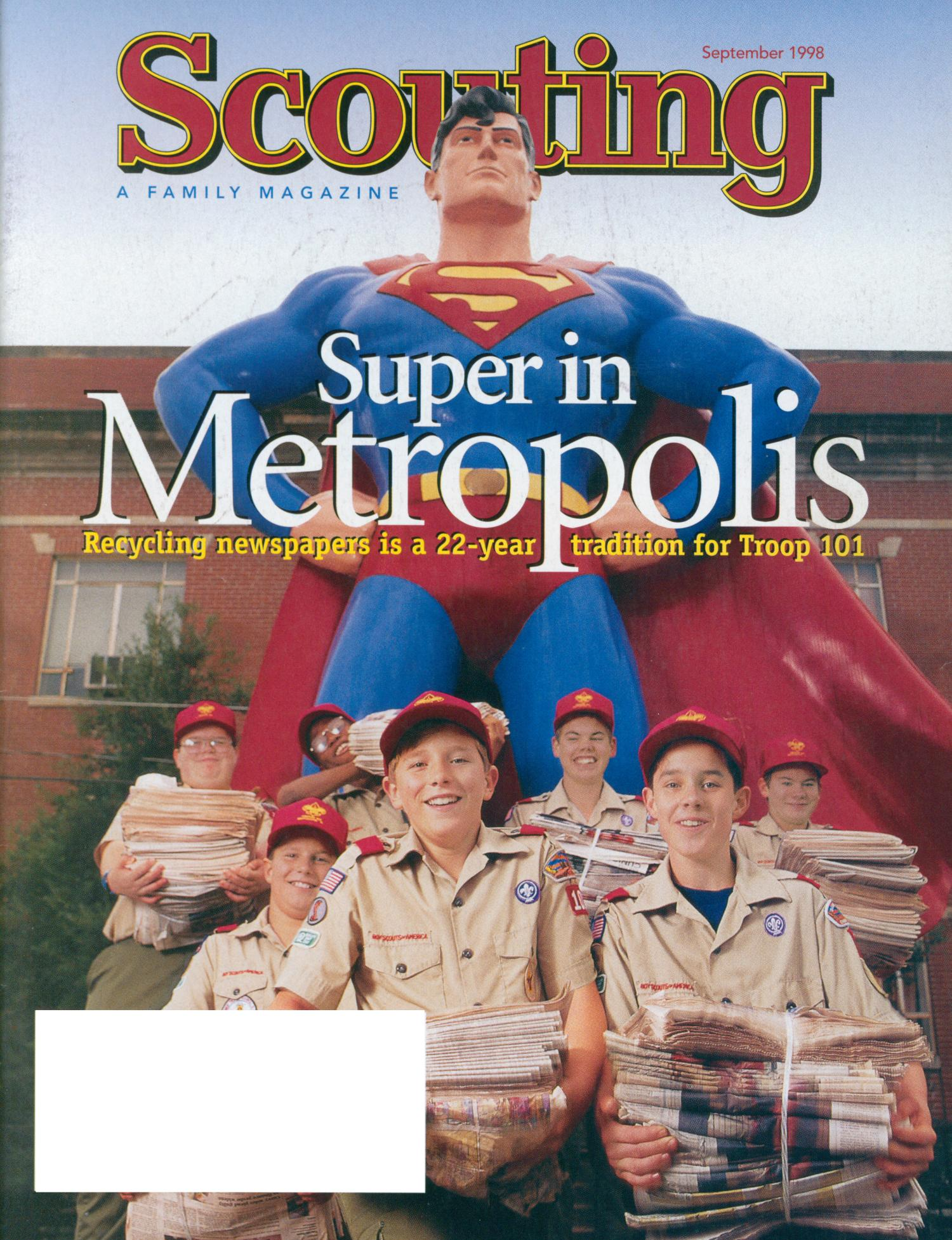 Scouting, Volume 86, Number 4, September 1998                                                                                                      Front Cover