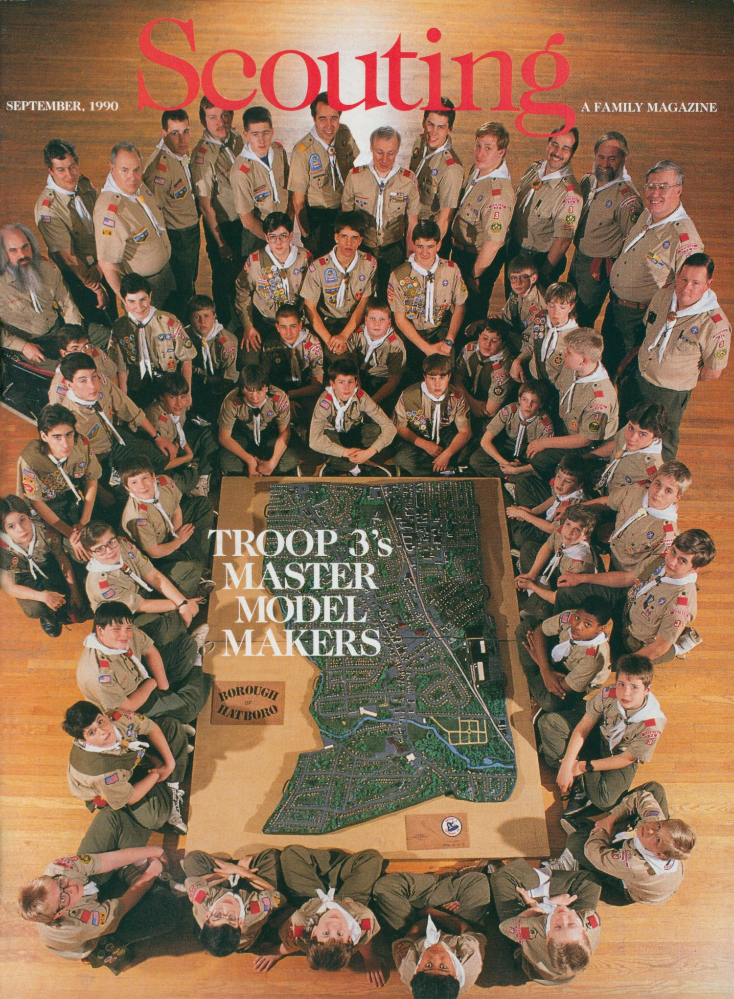 Scouting, Volume 78, Number 4, September 1990                                                                                                      Front Cover