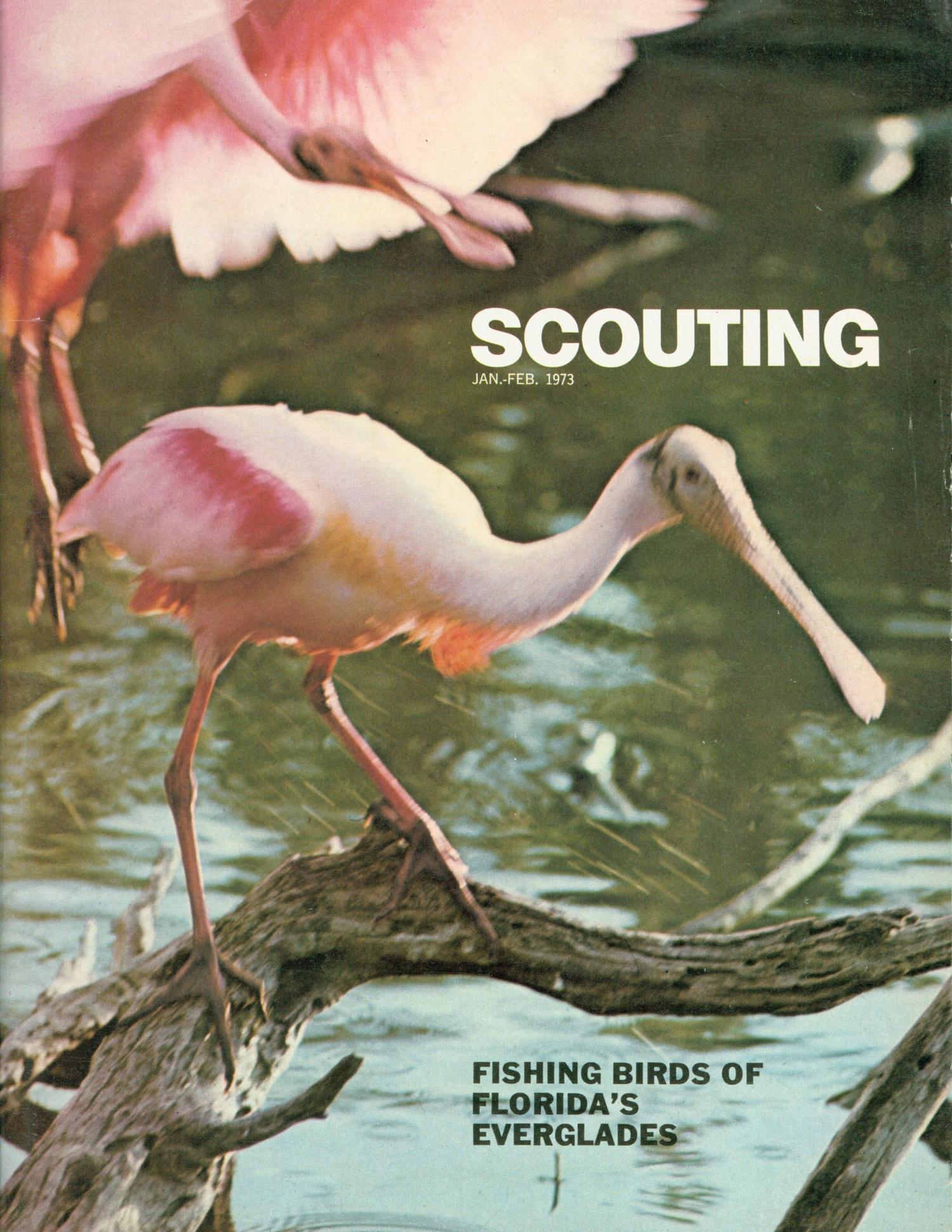 Scouting, Volume 61, Number 1, January-February 1973                                                                                                      Front Cover