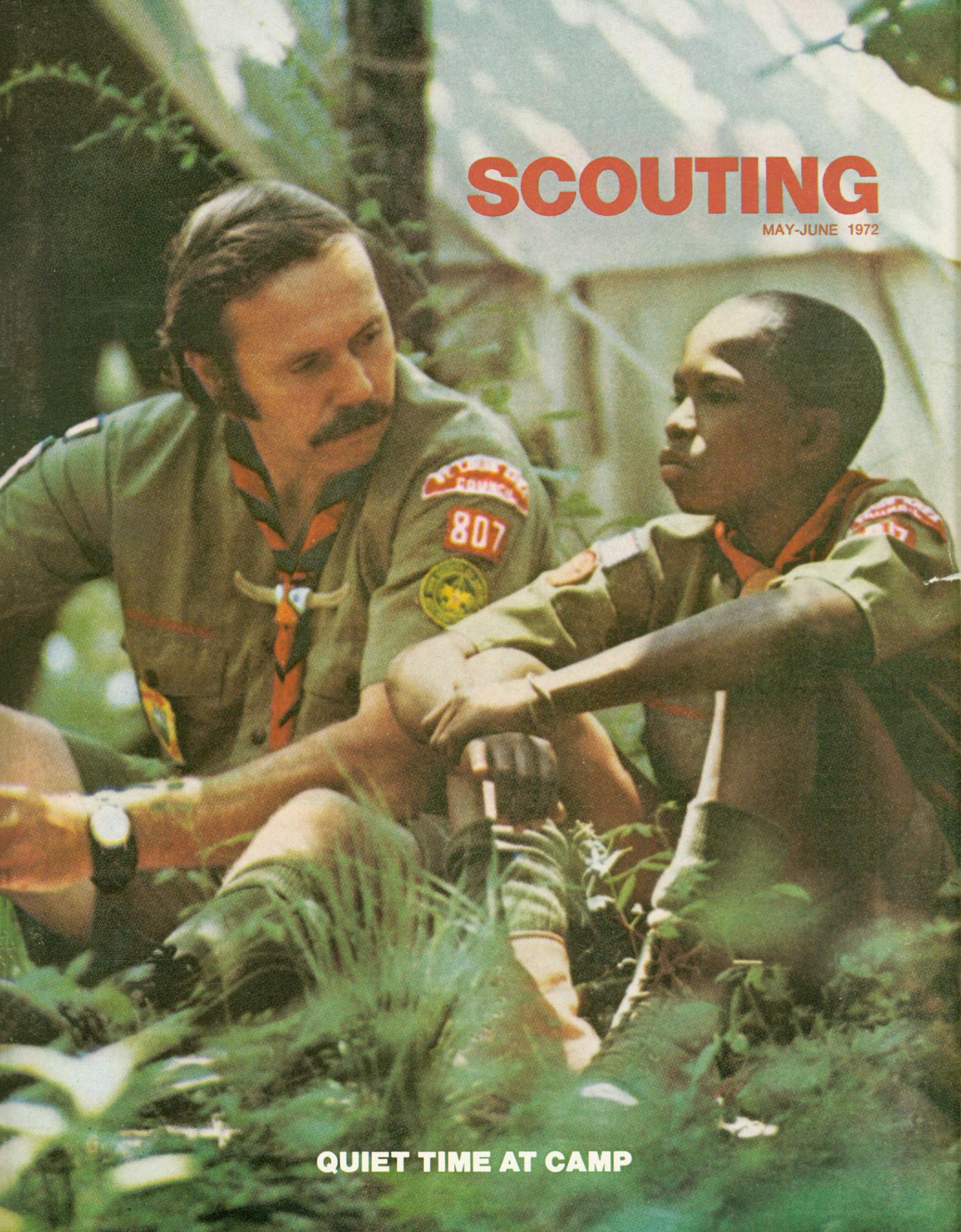 Scouting, Volume 60, Number 4, May-June 1972                                                                                                      Front Cover