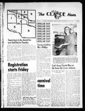 Primary view of object titled 'The Claude News (Claude, Tex.), Vol. 71, No. 1, Ed. 1 Thursday, August 25, 1960'.