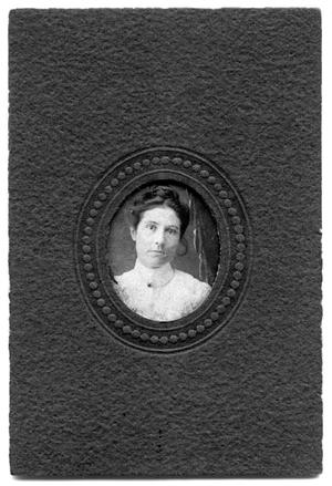 Primary view of object titled 'Portrait of Minnie Dean Scrivner'.