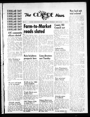 Primary view of object titled 'The Claude News (Claude, Tex.), Vol. 71, No. 6, Ed. 1 Thursday, September 29, 1960'.