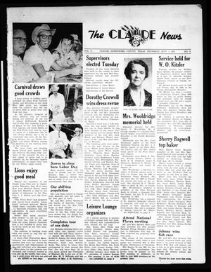 Primary view of object titled 'The Claude News (Claude, Tex.), Vol. 71, No. 2, Ed. 1 Thursday, September 1, 1960'.
