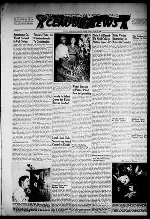 Primary view of object titled 'Claude News (Claude, Tex.), Vol. 58, No. [42], Ed. 1 Friday, June 24, 1949'.