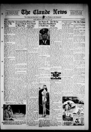 Primary view of object titled 'Claude News (Claude, Tex.), Vol. 53, No. 45, Ed. 1 Friday, July 7, 1944'.