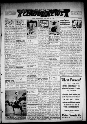 Primary view of object titled 'Claude News (Claude, Tex.), Vol. 57, No. 34, Ed. 1 Friday, April 30, 1948'.
