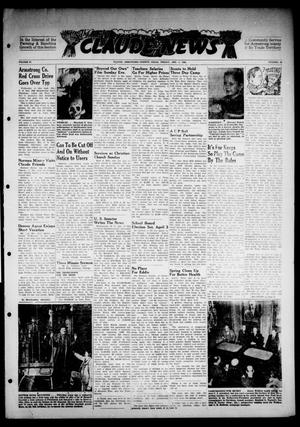 Primary view of object titled 'Claude News (Claude, Tex.), Vol. 57, No. 30, Ed. 1 Friday, April 2, 1948'.