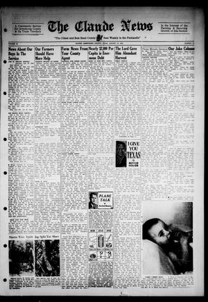 Primary view of object titled 'Claude News (Claude, Tex.), Vol. 53, No. 51, Ed. 1 Friday, August 18, 1944'.