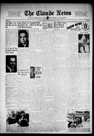 Primary view of object titled 'Claude News (Claude, Tex.), Vol. 52, No. 51, Ed. 1 Friday, August 13, 1943'.