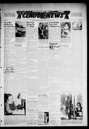 Primary view of object titled 'Claude News (Claude, Tex.), Vol. 57, No. 14, Ed. 1 Friday, December 12, 1947'.