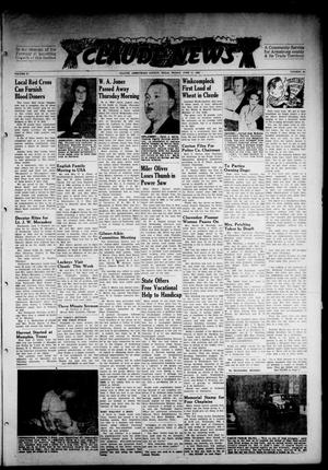 Primary view of object titled 'Claude News (Claude, Tex.), Vol. 57, No. 40, Ed. 1 Friday, June 11, 1948'.