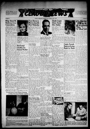 Primary view of object titled 'Claude News (Claude, Tex.), Vol. 58, No. 48, Ed. 1 Friday, August 5, 1949'.