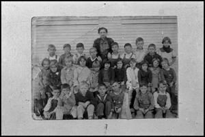 Primary view of object titled '[1st and 2nd Grades, Turney School]'.