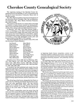 Cherokee County History - Page 685 - The Portal to Texas History