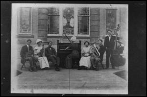 Primary view of object titled '[First Presbyterian Church Orchestra]'.