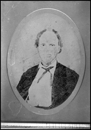 Primary view of object titled '[Photograph of Elijah Earle]'.