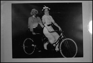 Primary view of object titled '[Bicycle for Two]'.