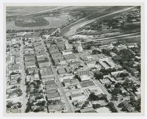 Primary view of object titled '[Aerial View of Brownsville]'.