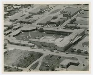 Primary view of object titled '[Aerial View of Flamingo Hotel]'.
