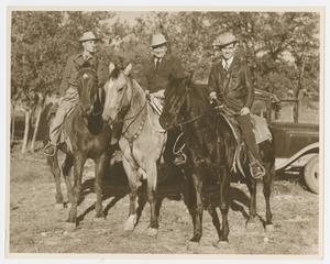 [Men on Horses]