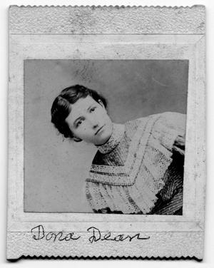 Primary view of object titled 'Portrait if Dona Dean'.